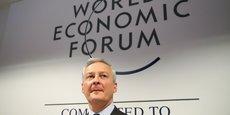 Bruno Le Maire, au forum économique de Davos.