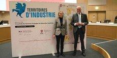 Agnès Pannier-Runacher, secrétaire d'Etat, et Alain Rousset, président du Conseil régional de Nouvelle-Aquitaine