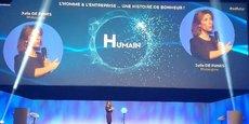 Julia De Funes à l'affiche du 5e congrès Entreprise du futur