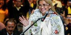 BOLIVIE: LA PRÉSIDENTE PAR INTÉRIM CANDIDATE AU SCRUTIN DU 3 MAI