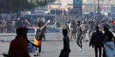 IRAK: HEURTS ENTRE FORCES DE SÉCURITÉ ET MANIFESTANTS À BAGDAD