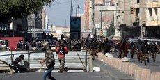IRAK: LES FORCES DE SÉCURITÉ OUVRENT LE FEU SUR LES MANIFESTANTS, UN MORT