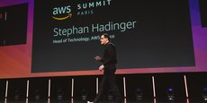 Stephan Hadinger, Head of Technology Amazon Web Services France.