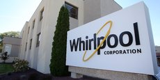 The administrative entrance at the Whirlpool plant in Clyde Ohio