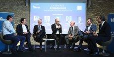 Philippe Dessertine (à droite) était l'invité de l'événement de Rentrée économique de La Tribune à Montpellier, le 29 janvier 2020.