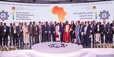 Photo de famille de la première édition du Forum Africain des Administrations Pénitentiaires.