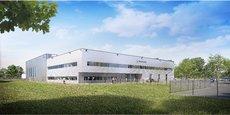 Le nouveau bâtiment de 3.900 m2 de Safran Data Systems, sur le Bassin d'Arcachon, sera livré en octobre 2020.