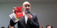 Franck Biasotto veut des éclaircissements sur les revenus du maire sortant et adversaire aux municipales, Jean-Luc Moudenc, suite à la parution du livre Les Voraces.