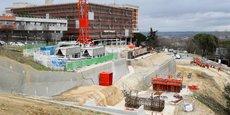 Le chantier du téléphérique urbain, qui doit passer par l'hôpital de Rangueil, est à l'arrêt.