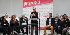 La candidate aux élections municipales à Toulouse, Nadia Pellefigue, a dévoilé l'ensemble de son projet, lundi 10 février.