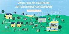 Créé en 2015 par le ministère des Finances, à la suite des Accords de Paris sur le Climat, le label ISR vient garantir la qualité des process d'analyse ESG (les critères environnementaux, sociaux et de gouvernance) mais ne vient pas attester une certaine composition du fonds.