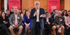 L'ancien maire de Toulouse, Pierre Cohen, a présenté sa liste pour les élections municipales à Toulouse.