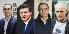 Thomas Cazenave, Nicolas Florian, Pierre Hurmic et Philippe Poutou débattront des sujets économiques de la métropole bordelaise le mercredi 4 mars 2020, à la Grande Poste.