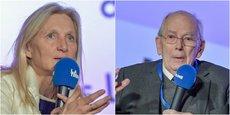 Clara Gaymard et Michel Camdessus ont échangé sur le thème de la confiance, de la bienveillance et de la jeunesse, le 7 février 2020, à Bordeaux lors d'Une Epoque Formidable.