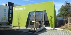 Le nouveau bâtiment Techtera à Ecully