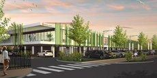 Le nouveau site de Sequoiasoft à Mauguio, un bâtiment de 2 000 m2 sur un terrain de 3 300 m2