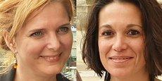 Clothilde Ollier et Coralie Mantion, opposées dans un contentieux sur l'investiture EELV pour les municipales à Montpellier.