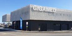 Gigamed est située à 200 m de l'échangeur 34 de l'A9