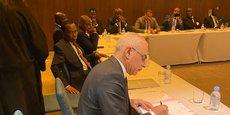 Les membres de l'Association des Loteries d'Afrique (ALA) lors de la réunion du 24 février à Casablanca.