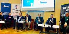 Les candidats aux municipales de Nîmes ont débattu le 5 mars, invités par l'UPE 30 et La Tribune.
