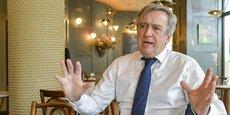 Pascal Jarty est candidat à l'élection municipale à Bordeaux à la tête de la liste Servir Bordeaux