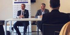 Samuel Hervé, président du Medef Hérault Montpellier, présente l