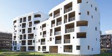 La résidence de logements sociaux Les Galets, à Bègles (Gironde), a été réalisée par l'ESH Domofrance et les architectes Leibar & Seigneurin.