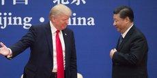 Donald Trump et Xi Jinping, les chefs d'Etat américain et chinois.