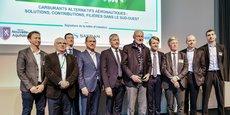 Le projet réunit Safran Helicopter Engines, Euralis, Teréga, ACD, Chemparc, Agri Sud Ouest Innovation, Xylofutur, la CCI Pau Béarn, l'UPPA, Aerospace Valley et la Région Nouvelle-Aquitaine.