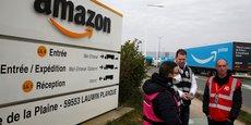 Plusieurs salariés d'Amazon France ont fait valoir leur droit de retrait.