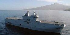 Le porte-hélicoptères Tonnerre appareillera très prochainement pour évacuer des patients atteints du coronavirus en réanimation de Corse vers les établissements de santé pouvant les soigner