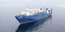 OFW Ships propose de fabriquer du gel hydroalcoolique sur son navire-usine l'Odeep One, à Sète