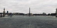 Ce dimanche 29 mars, 3,381 milliards de personnes dans le monde étaient appelées ou astreintes à rester confinées chez elles. Ici, une vue de Paris déserte.