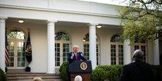 CORONAVIRUS/USA: LE PIC DES DÉCÈS PRÉVU DANS DEUX SEMAINES, AFFIRME TRUMP