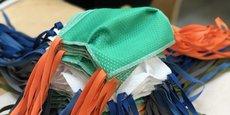 CBN, qui a réalisé 20 millions d'euros de recettes en 2029, mobilise 12% de son personnel pour fabriquer gratuitement des masques sanitaires depuis une dizaine de jours.
