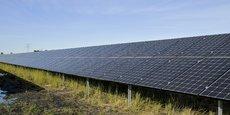 La centrale solaire de Merle-Sud à Saint-Magne (Gironde) a été inaugurée fin 2019.