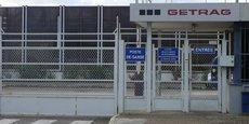 Porte ouest de l'usine GFT à Blanquefort