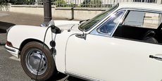 Cette Porsche 912 de 1968 a été rétrofité et roule désormais en 100% électrique (Crédit Retrofutur).