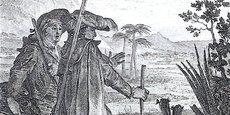 Illustration par Jean-Michel Moreau du chapitre 19 de Candide (Voltaire, 1787)