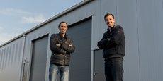 Pierre Huguier (directeur scientifique) et Michaël Roes (président), les deux cofondateurs de Toopi Organics.