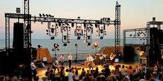 Le festival Jazz à Sète (juillet 2019) au Théâtre de la Mer.