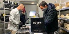 La fromagerie Bouby, installée dans les Halles Plaza de Montpellier, lance un service de vente en ligne pour minimiser l'impact de la crise sanitaire du Covid-19.