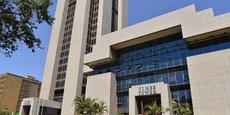 La Times Tower de Nairobi qui abrite le siège de l'Autorité fiscale du Kenya.