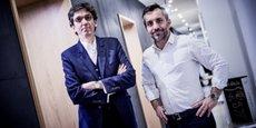 Philippe Perdrix et Romain Grandjean, fondateurs-associés de l'agence en conseil et communication stratégique dédiée à l'Afrique, 35° Nord.