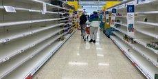 Le Royaume-Uni importe 30% de ses aliments de l'Union européenne qu'il vient de quitter, et plus de 10% de pays tiers avec lesquels l'Union européenne a conclu des accords.