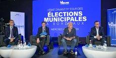 Le 4 mars dernier, Thomas Cazenave, Nicolas Florian, Philippe Poutou et Pierre Hurmic ont débattu sur les sujets économiques à l'invitation de La Tribune.