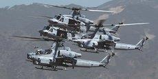 L'hélicoptère d'attaque AH-1Z de Bell est en compétition pour équiper la Philippine Air Force