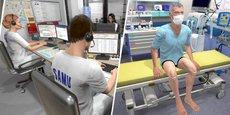 L'entreprise SimforHealth et le CHU de Bordeaux ont développé conjointement un simulateur numérique pour la prise en charge de patients Covid-19.