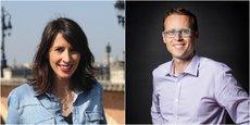 Tiffany Tinperman, cofondatrice de Trésoria, et Matthieu Bacquin, CEO de Self&Innov
