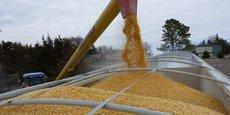 L'activité agricole (ici collecte de maïs) est l'un des amortisseurs qui a permis de contenir la baisse d'activité.